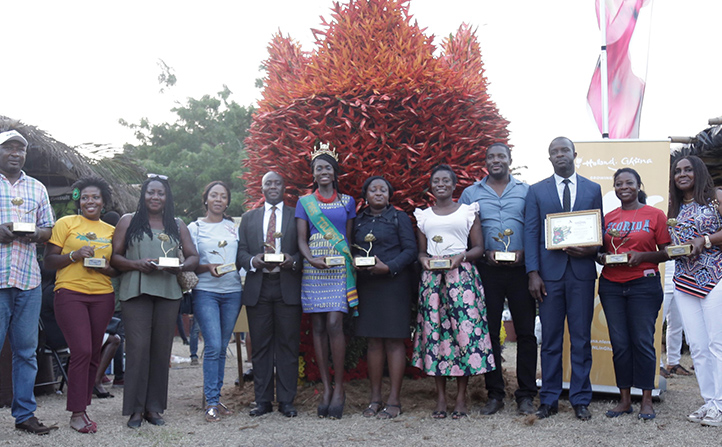 5th Anniversary Edition Of Ghana Garden And Flower Show Ends With Six Awards To Individuals And Organisations